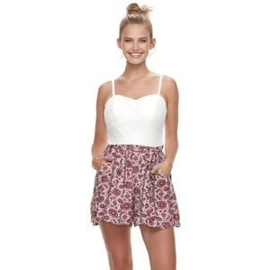 NWT Lily Rose Romper